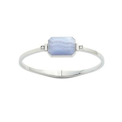 (Small, Boardwalk) - Ringly - Activity Tracker / Smart Bracelet, Silver, Blue La