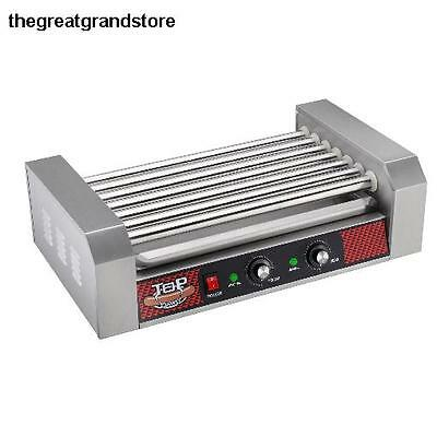 Great Northern Commercial Quality 18 Hot Dog & 7 Roller Grilling Machine Home