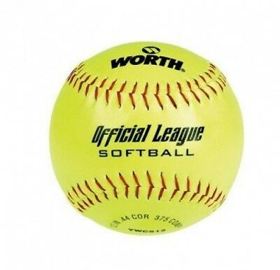"Rawlings Sporting Goods WCS30.5cm Worth"" Recreation Softball 30.5cm. Shipping is"