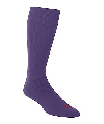 (Small, Purple) - A4 Team Tube Sock. Free Delivery