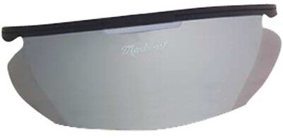 Markwort Men's Powerswing Catcher's Masks Sun Shade (Colour: Silver). Best Price