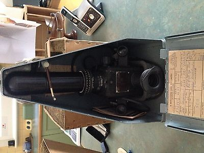 Vintage Periscope Sextant -- In Carry Case ( Hughes) Looks Vgc --Untested
