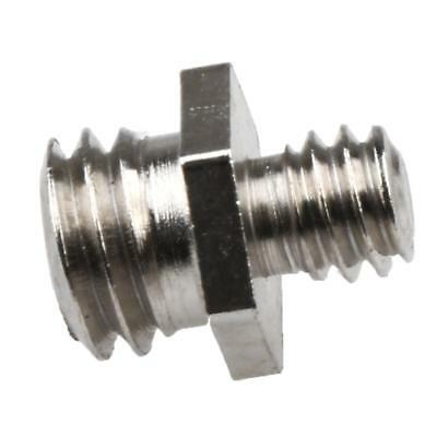 """Durable 1/4"""" Male to 3/8"""" Male Threaded Screw Adapter for Camera Tripod"""
