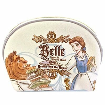 Beauty and the Beast Cosmetic Bag * Princess Belle Pouch - Disney Japan new .