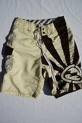 d969f64f0b Billabong Andy Irons Rising Sun Board Shorts. Brown / Yellow, Men's / Boy's  23