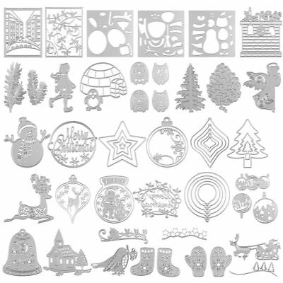 Metal Cutting Dies Stencil Crafts Card Paper Scrapbooking Embossing Crafts Decor