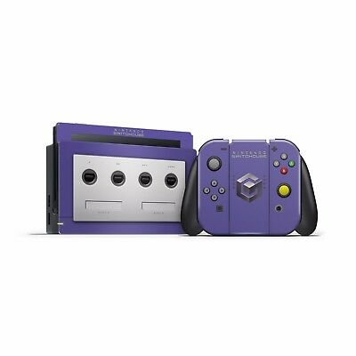 Nintendo Switch Gamecube V2 theme skins Joycon dock decal sticker Console skin