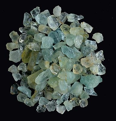 100 Ct Scoop Natural Aquamarine Raw Rough Lot Loose Gemstones Mineral Earthmined