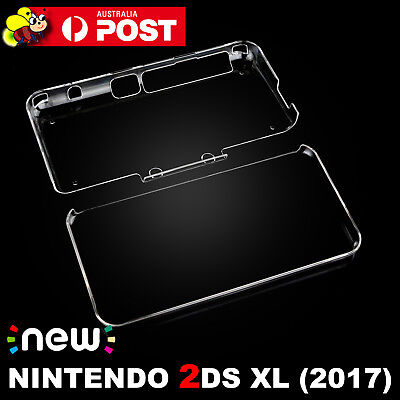 Transparent Clear Crystal Hard Case Cover Shell For NEW Nintendo 2DS XL/LL 2017