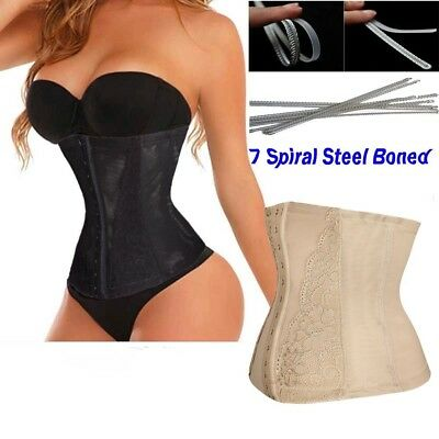 (XL/(Fit Waist 70cm  - 70cm ), Black#3) - DODOING Body Trainer Corset for Weight