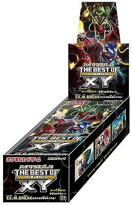 Pokemon The Best of XY Pack Japanese Booster Box TCG