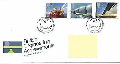 GB - FIRST DAY COVER - FDC - COMMEMS -1983- BRITISH ENGINEERING -  Pmk PB