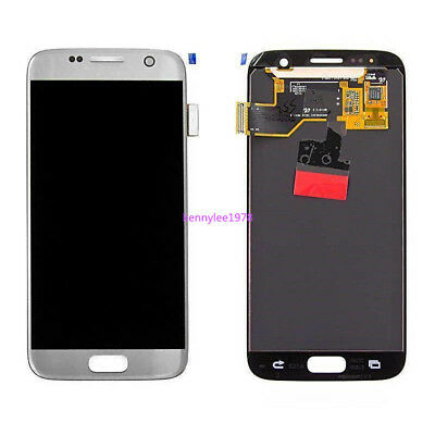 For Samsung Galaxy S7 SM-G930F TOUCH SCREEN DISPLAY LCD Glas Digitizer silber