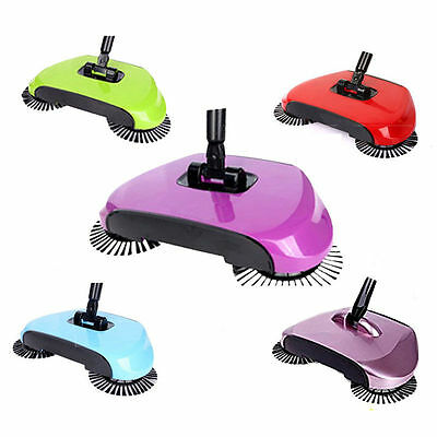 Hand Push Floor Sweeper Broom Lazy Household Automatic Intelligent Cleaner new