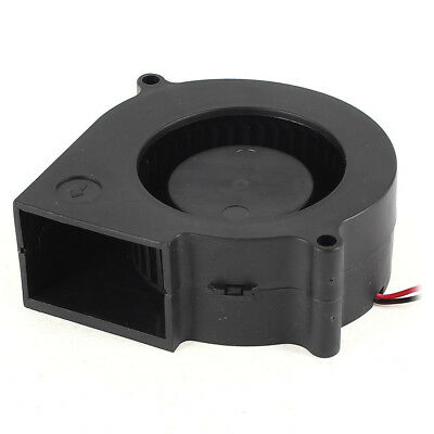 75 mm X 30 mm 2 pin DC 12 V brushless fan PC computer cooling fan