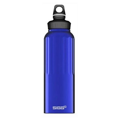 Sigg Wide Mouth Traveller Bottle Dark Blue, 1.5 Litre