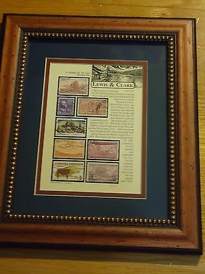 Jack Rabbit Studio Lewis And Clark - Louisiana Purchase Collection Framed Stamps