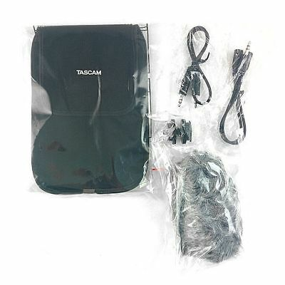 Tascam AK DR11C  Accessory Package With Audio Splitter Windshield Shoe Mount ...