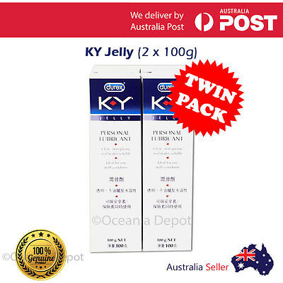 [Twin Pack] KY Jelly Personal Lubricant 100g Intimate Gel Lube