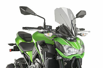 Kawasaki Z 900 2017 > Puig Screen Smoke Touring Naked Windscreen
