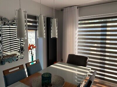 Day & Night / Zebra Blinds - Soft - UK PRODUCT - Made to measure in UK