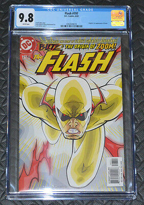 The Flash #197 1st Appearance of Zoom CGC 9.8!