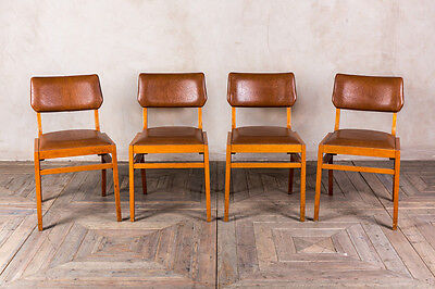 Retro Upholstered Cafe Chairs Vintage Wooden Ben Cafe Chair Restaurant Seating