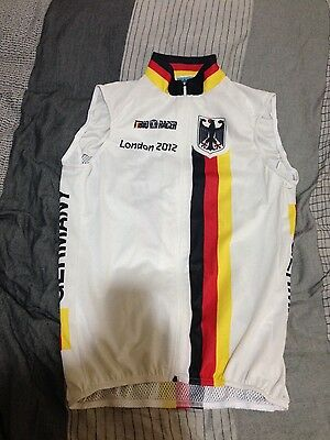 German Olympic cycling team windvest!