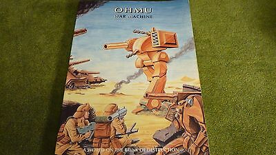 Ohmu War Machine - Rulebook
