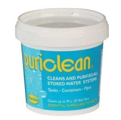 Puriclean 400g Water System Clean Purification Treatment Motorhome Caravan Boat