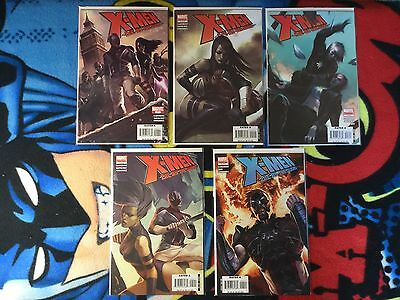 Marvel Comics X-MEN Die By The Sword Limited Series 1-5 VF/NM