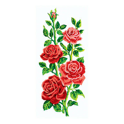 COLLECTION D'ART | Printed Canvas: Red Roses Stem |CD8014