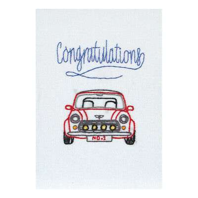 ANCHOR   Embroidery Kit: Congratulations - Gift Card   RDK46