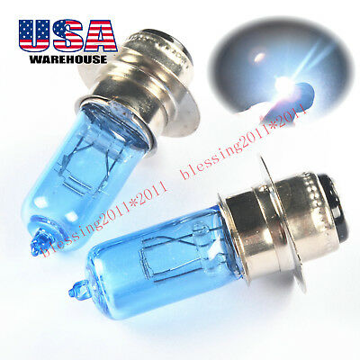 100W For Yamaha Warrior YFM350X 93-01 Breeze 125 YFA1 95-03 LED Headlight Bulbs