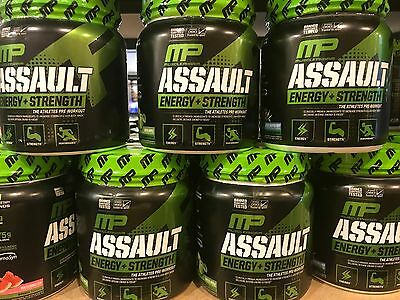 MusclePharm Assault Sport 30 Servings Pre Workout New Formula Pick Flavor