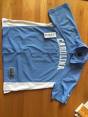 Nike Elite North Carolina Tar Heels UNC Authentic Warm Up Shooting Shirt L
