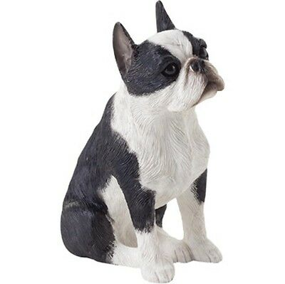 Boston Terrier Figurine Hand Painted – Sandicast