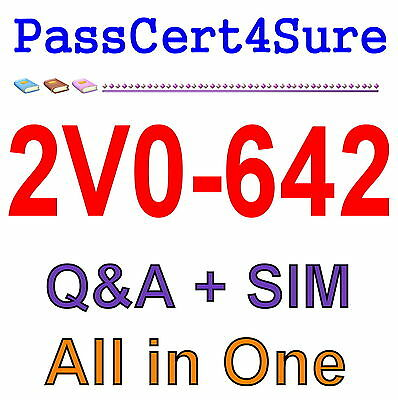 VMware Certified Professional 6 - Network Virtualization 2V0-642 Exam Q&A+SIM