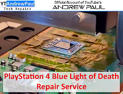 PlayStation 4 Blue Light of Death Repair Service - YouTube's Andrew Paul