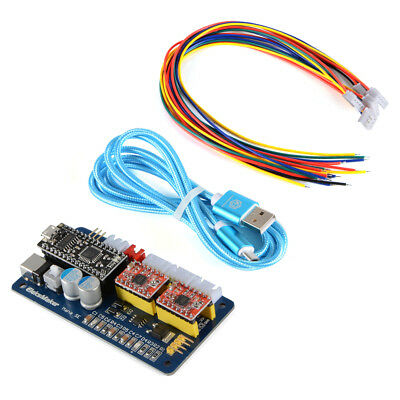 2-Axis DC 12V USB Stepper Motor Driver Laser Control Module Board for CNC TE693