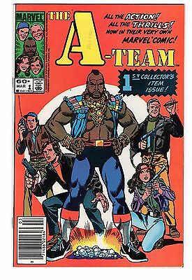 The A-Team #1 & #2  (1984, Marvel) Two Book Lot / Mr. T / B.A. Baracus
