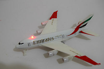 Official Emirates Plane Diecast Aircraft Aeroplane Collectible Model-Sound&light