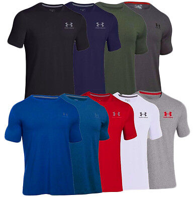 Under Armour Men's UA Charged Cotton Short Sleeve T-Shirt #1257616