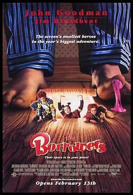 Original 1997 THE BORROWERS Movie Poster 27x40 Theatrical NOT REPRODUCTION