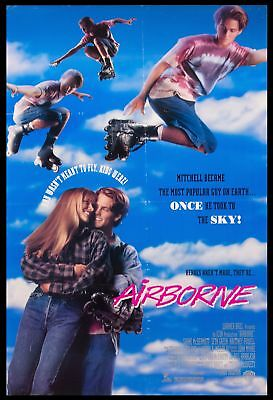 Original 1993 AIRBOURNE Movie Poster 27x40 Theatrical NOT REPRODUCTION