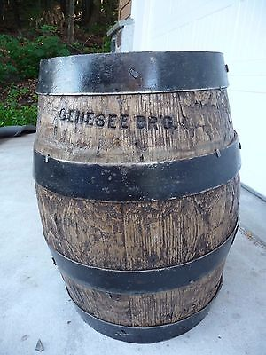 Genessee Brewery Pre Prohibition Oak Beer Barrel Rochester Ny