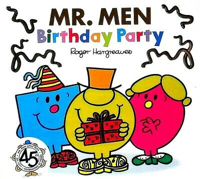 Mr. Men | Birthday Party | Children's Story|Picture Book | Roger Hargreaves |New