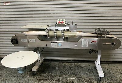 Bagel Former Am Mfg. BF-100 #6743 Commercial Bakery Bagel Dough Forming Machine