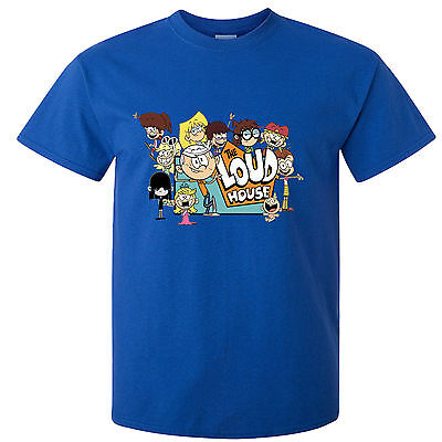 Childs T-Shirt - Loud House Kids  - Many Sizes & Colors