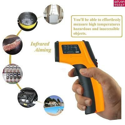 Handheld Non Contact IR Laser Infrared Digital Temperature Gun Thermometer tool